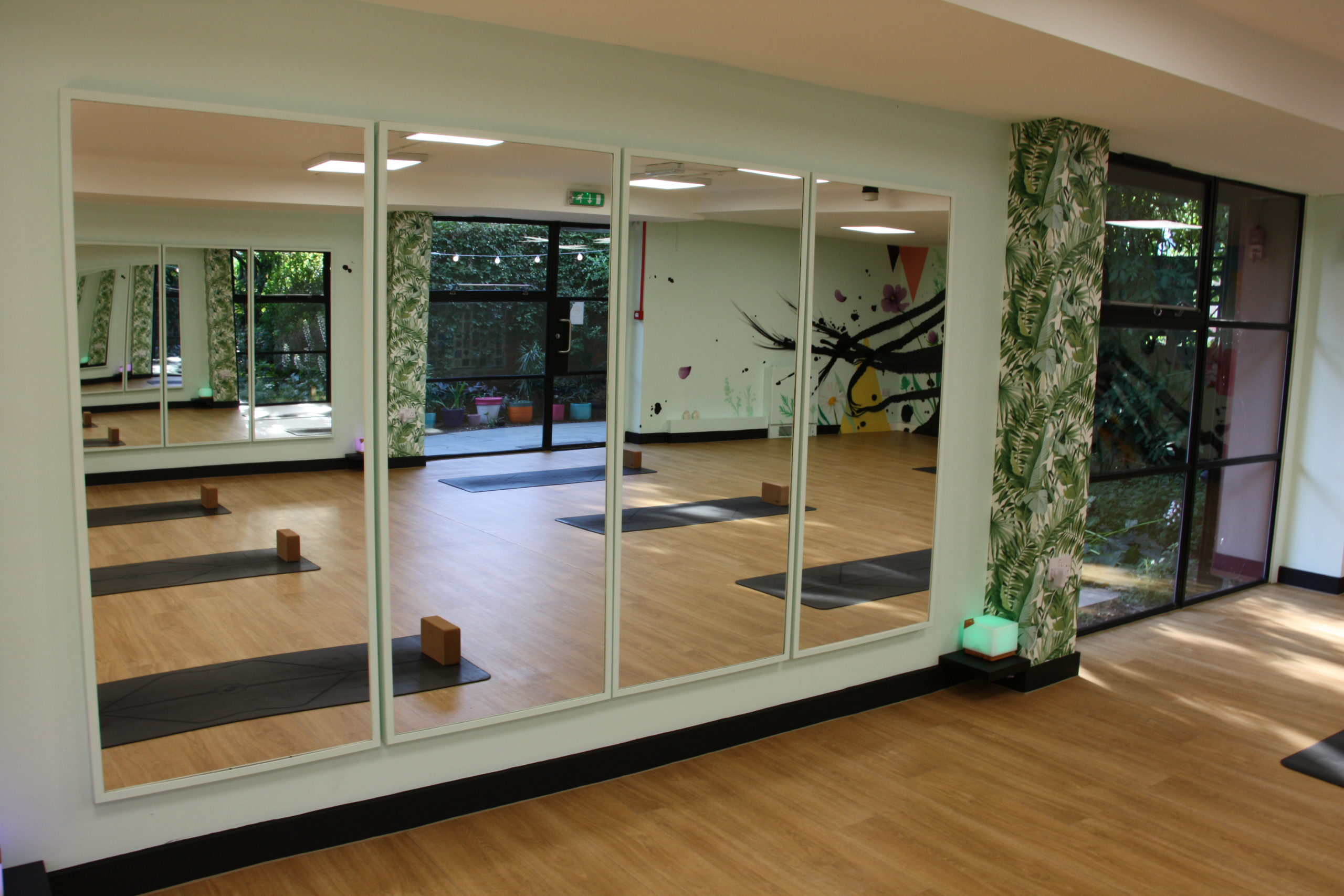 airy ground floor yoga and pilates in hackney
