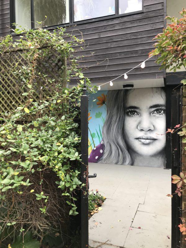 street art in hackney wick fitness studio