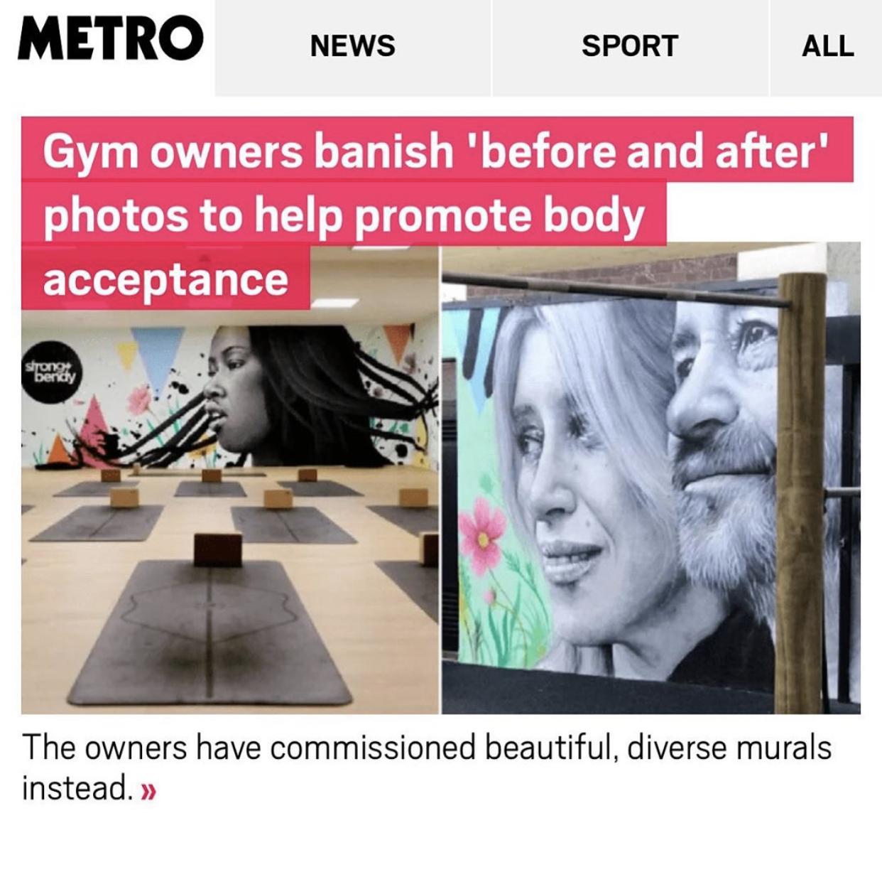 Hackney Gazette coverage of Strong + Bendy