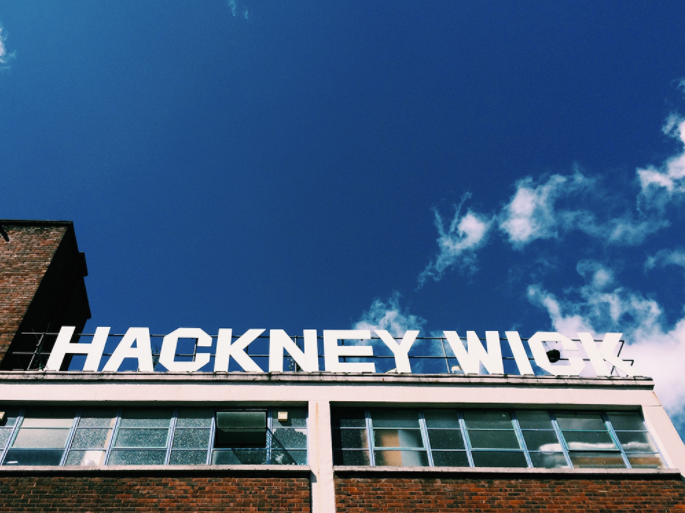 iconic hackney wick sign