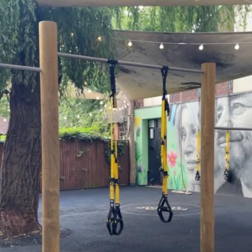 Outdoor gym hackney