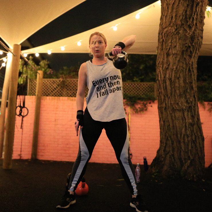 group fitness kettlebells east london