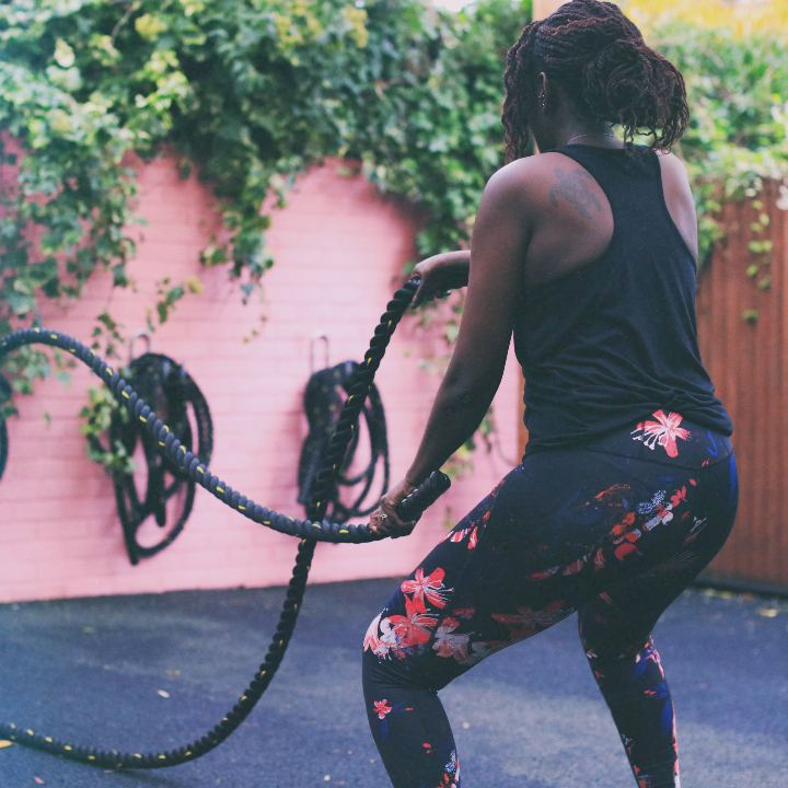 battle ropes group fitness