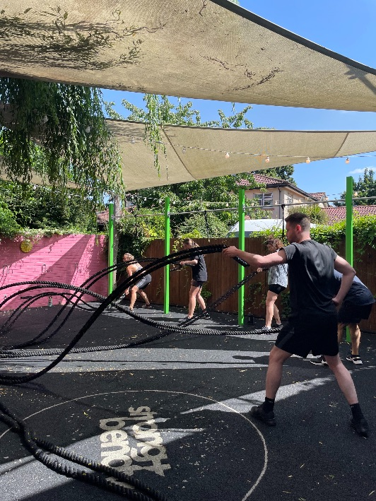 HIIT workout in Hackney