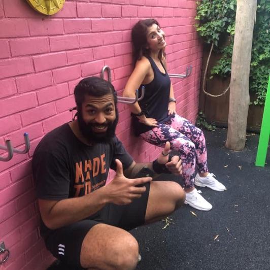 Strength workout class Hackney Wick